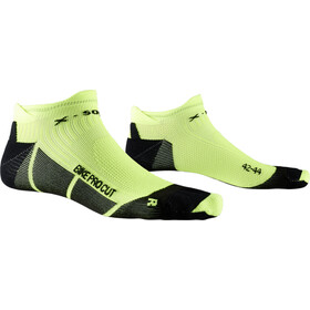 X-Socks Bike Pro Cut Calze, opal black/phyton yellow